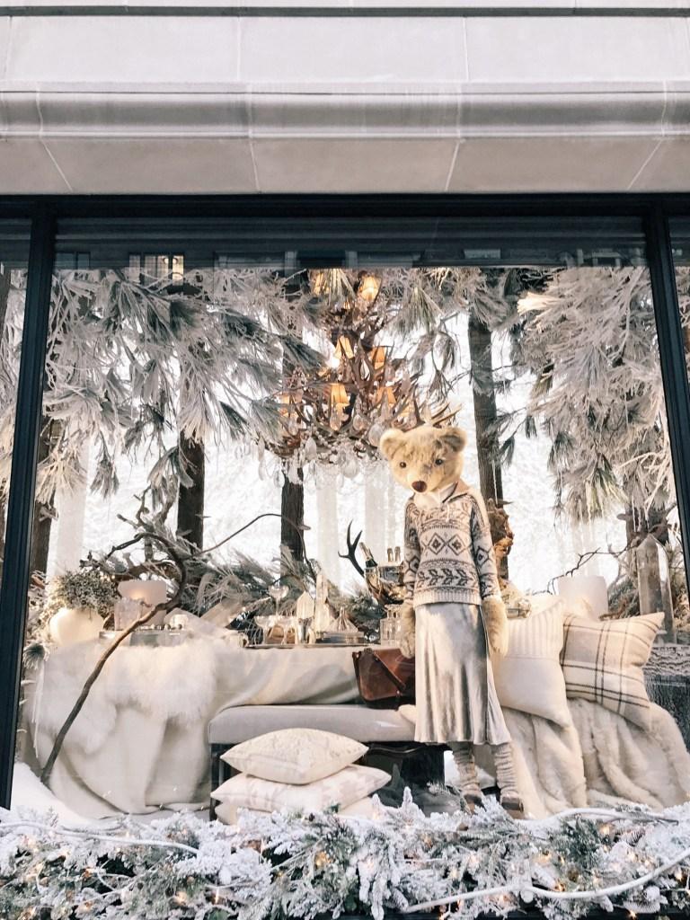 Ralph Lauren Holiday Window Display 2017