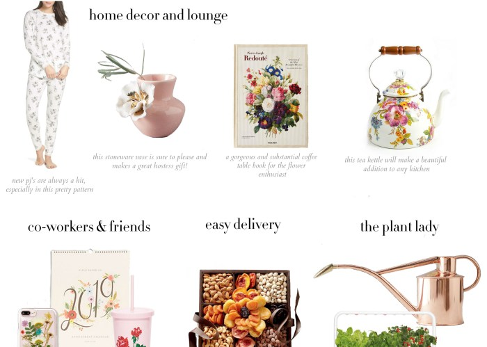 Holiday Gift Ideas for the Flower Lover | Zoe With Love, Pittsburgh Lifestyle Blog