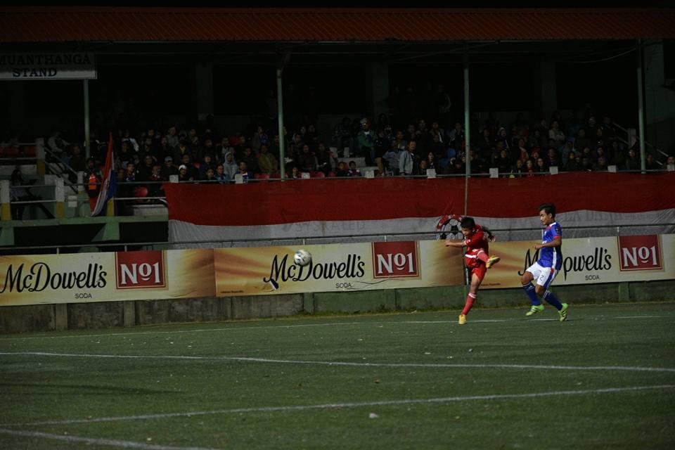 Chanmari FC-in Aizawl FC an hlau - Rooney Opa