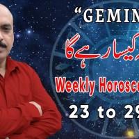 Weekly Horoscope Gemini |23 Feb to 29 Feb 2020|yeh hafta Kaisa rahe ga |by Sheikh Zawar Raza jawa