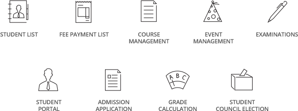 Educational management and automation software for schools