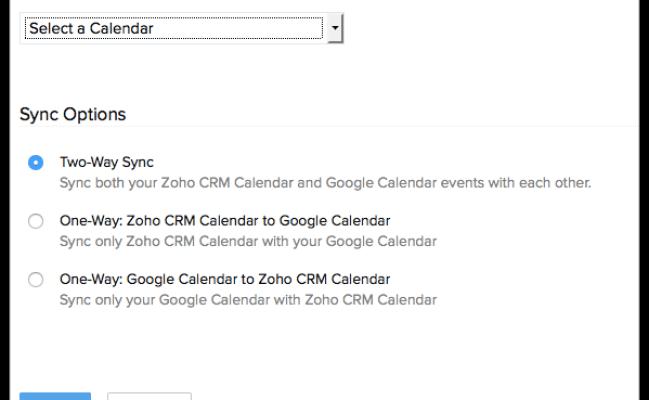 Synchronizing With Google Calendar Online Help Zoho Crm