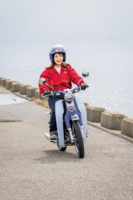 COVER GIRL:HIRAJIMA NATSUMI/COVER MACHINE:HONDA SUPER CUB C125