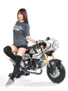 SATSUKI MINE/HONDA MONKEY125 SPECIAL THANKS:KITACO