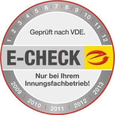 Prüfplakette E-Check