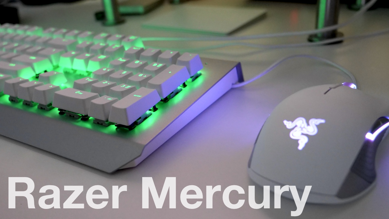 Iphone X Notch Wallpaper Razer Mercury Mouse And Keyboard Unboxing And First Look