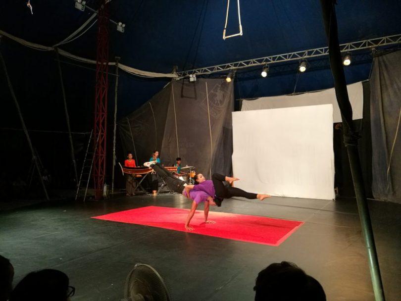 Cirque de Battambang, Cambodge