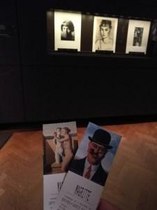 Ticket Musée Magritte