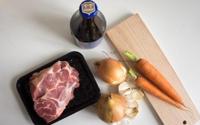 pulled pork voorbereidingen
