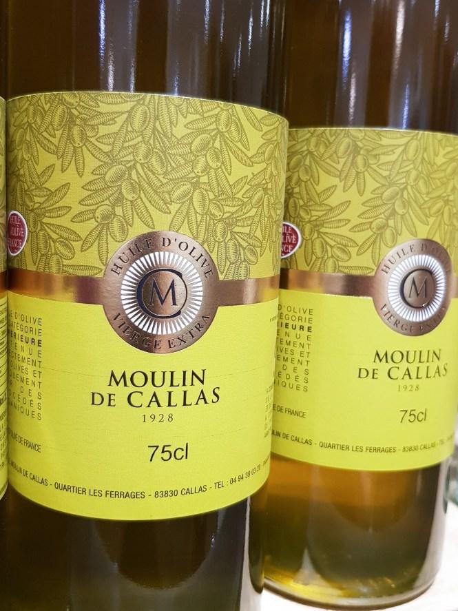 Olijfolie van Le Moulin Du Callas