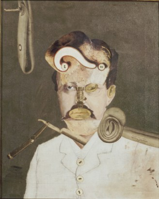 Dada -- George Grosz -- A victim of Society (later titled 'Remember Uncle August, the Unhappy Inventor')