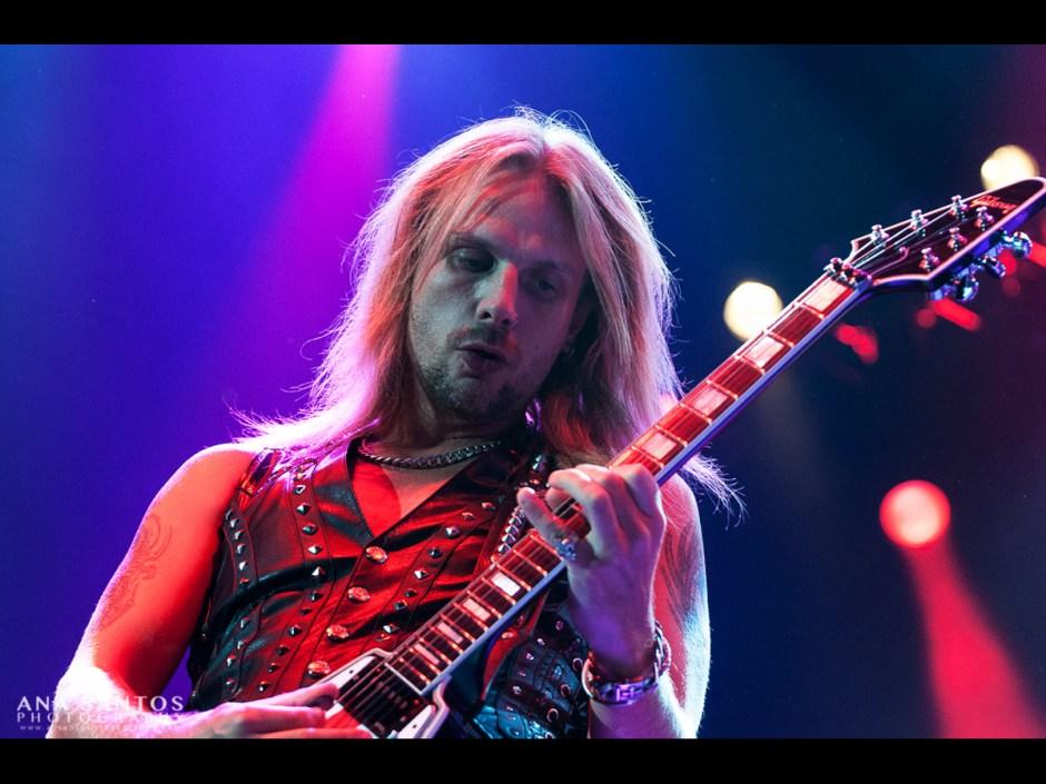 "Ana Santos -- ""Richie Faulkner of Judas Priest"""