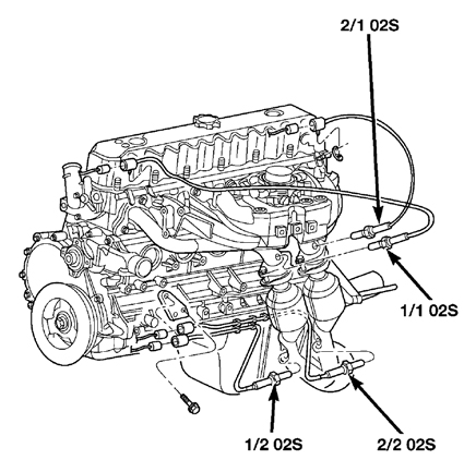 04 Jeep Grand Cherokee Oxygen Sensor Wiring Diagram. Jeep