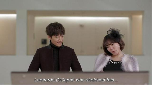 Jung Joo Ri - Leonardo DiCaprio who sketched this