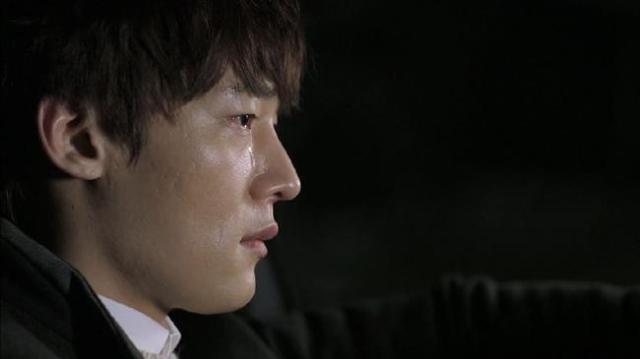 Oh Chang Min cries