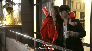 i'm song yi with a man
