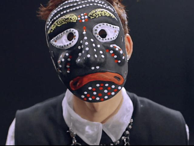 sad mask