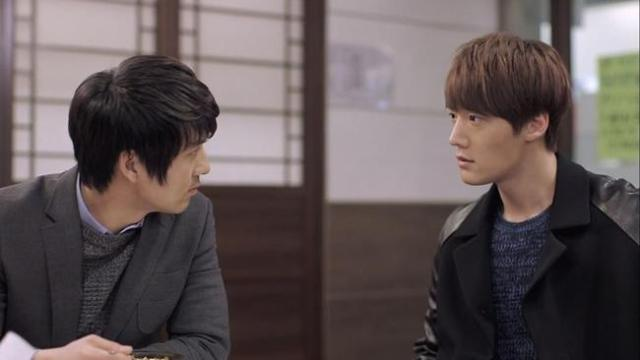 Gook Chun Soo Oh Chang Min stare down
