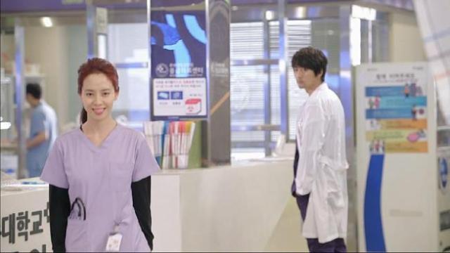 Oh Jin Hee smiles as she walks away from Gook Chun Soo