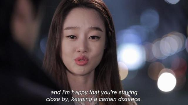 Shim Ji Hye - And I'm happy that you're staying close by keeping a certain distance