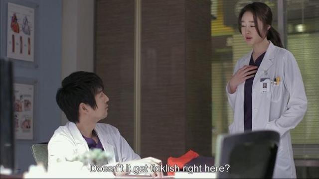 Shim Ji Hye - Doesn't it get ticklish right here