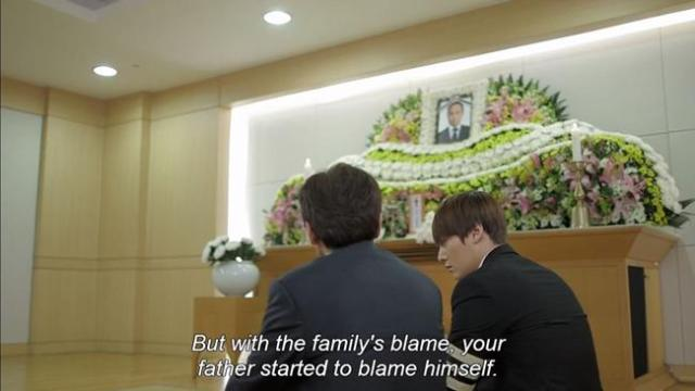 Yoon Sung Gil - But with the family's blame your father started to blame himself