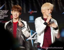 Wonho and Minhyuk 1