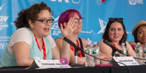 Photo courtesy of the DailyDot (who also did a fantastic article about this panel which you should totally check out!)