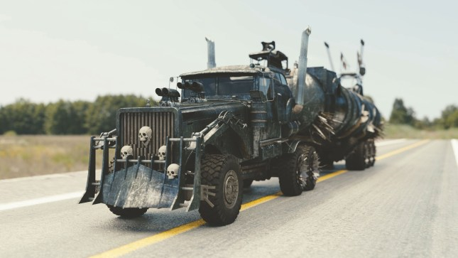 Zombie proof vehicle