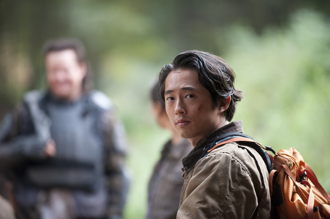 'The Walking Dead's Glenn Was Spotted On Set....YAY!!!