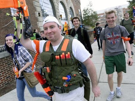 Zombies vs. Spartans: Battling On Campus