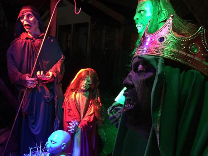 Interview with the owners of the Zombie Nativity