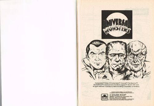 Universal Studios Monsters A Big Coloring Book From