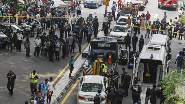Malaysia ah Bomb kitam, mi 1 si, adang mi 12 liam
