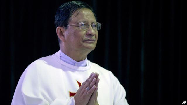 Yangon aom St. Paul's Missionary School ah 05 Jan 2015 ni in Cardinal Charles Muang Bo in biakpiakna aneih laitak