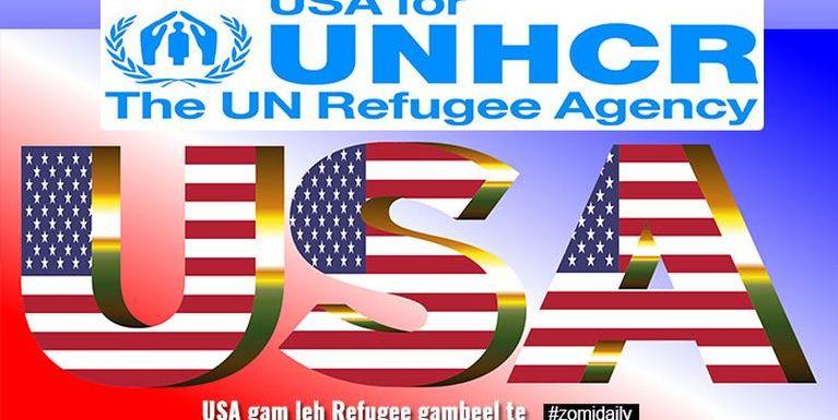 USA – UNO – Refugees ~ Pu Zokhai
