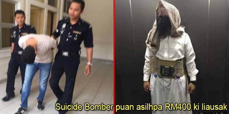 Malaysia ah Bomb sukhamding bangkek in akizempa RM400 ki liausak