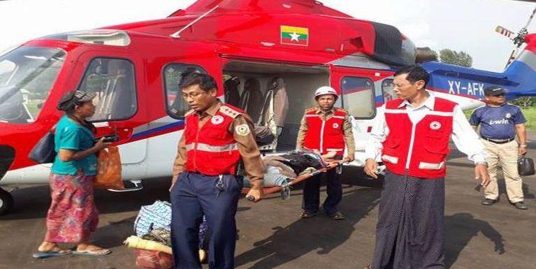 Red Cross te'n Myanmar, Rakhine State sungah huhna tampi hawmkhia