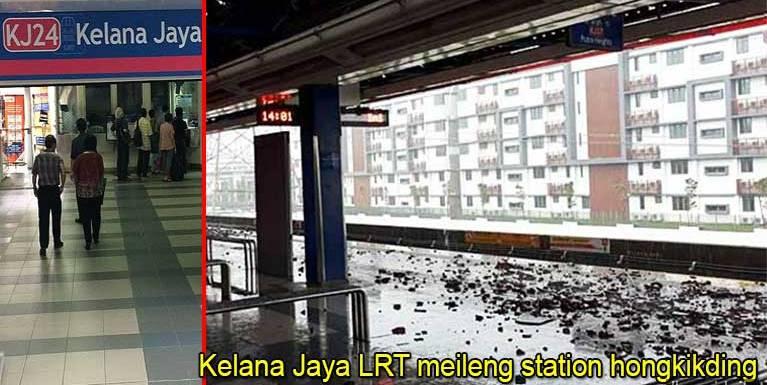 Update:Monday zingsang in Kelana Jaya LRT meileng station ki hongkik tading