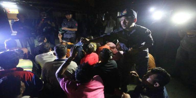 Malaysia, Kuala Kangsar ah Operasi 2 vei lut, mi 37 kiman, Myanmar zong kihel