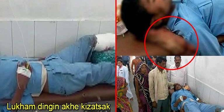 Accident atuahsia khat alukham dingin ama' khe akitankhia pen kizangsak