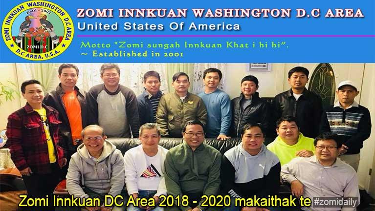 Zomi DCA makai (E.C) kiteelna pulak khiatna (2018 - 2020)