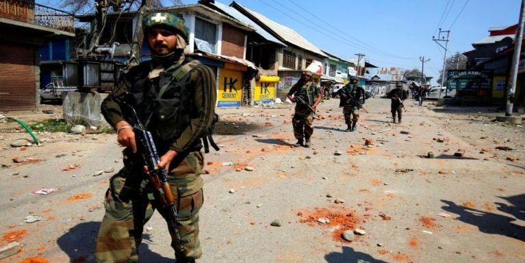 India, Kashmir sung buaina hangin misi 16 phakhinta