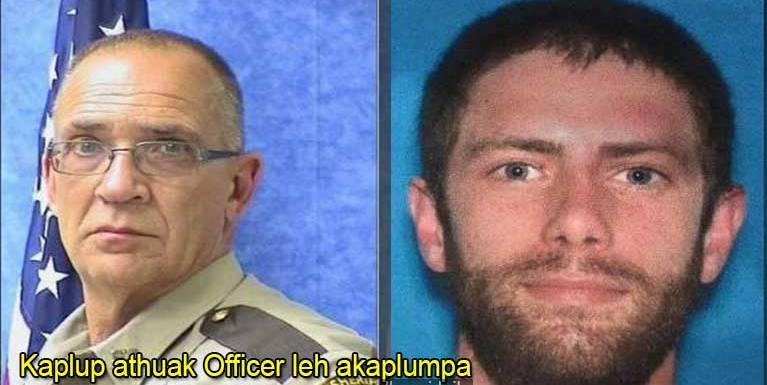 USA, Maine State ah Officer khat kikaplum, akappa matding in kizonsan