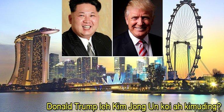 Donald Trump leh Kim Jong Un koi ah kimu khawmding?