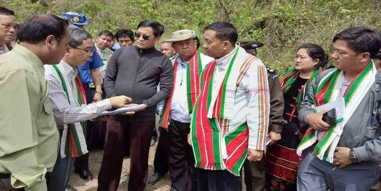 Vice President Pu Henry Van Thio le apawlte Cikha Khuapi ah