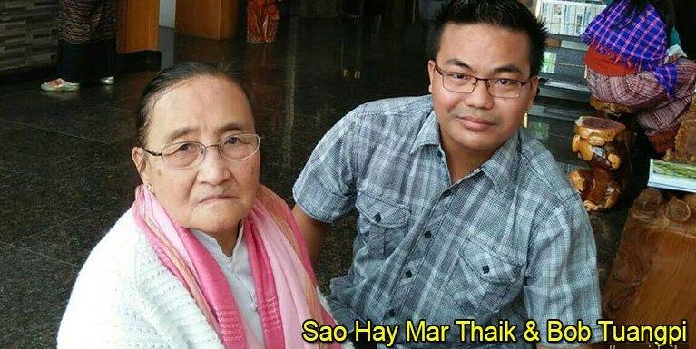 Kawlgam kumpi masapen Sao Shwe Thaik tanu Sao Hay Mar Thaik tawh holimna