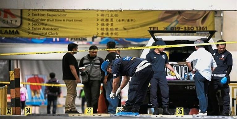 Malaysia, Kuchai Lama ah Police te'n damiah mi 5 akaplupna Video update