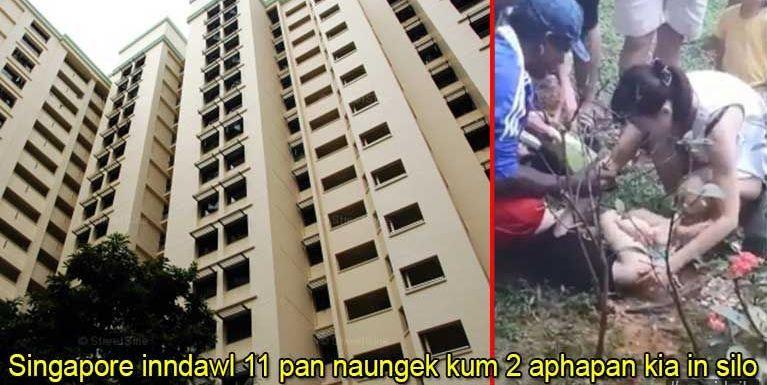 Singapore inndawl 11 pan naungek kum 2 aphapan kia in silo bilbel