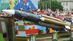 Hsiung Feng III supersonic missile